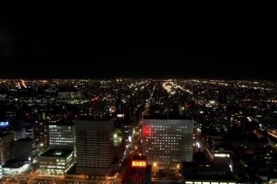 JRタワー30階からの眺め