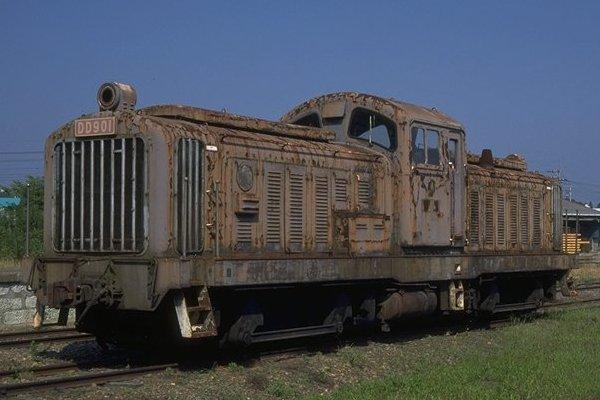 鹿島鉄道 DD901