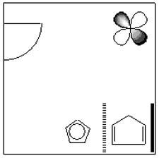 障害者用トイレ模式図
