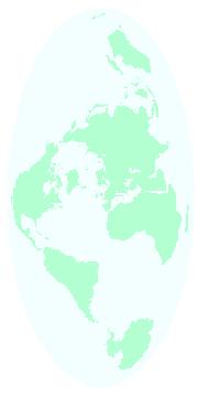 オーサグラフ世界地図