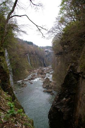 不動滝の景色