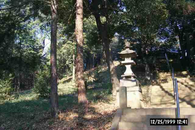 東松山市の古墳(雷電山古墳)