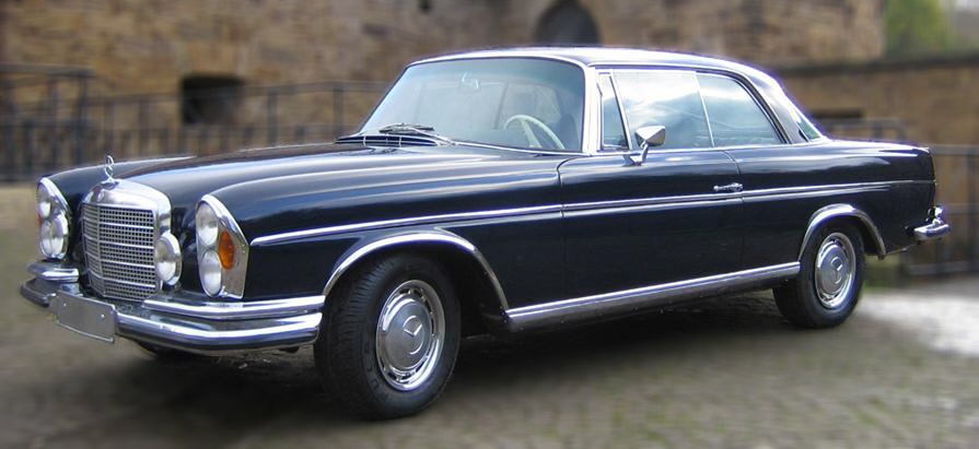 Mercedes 280se 1969 on benz w111