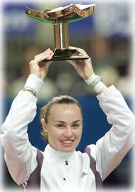 テニス界の女王ですね。