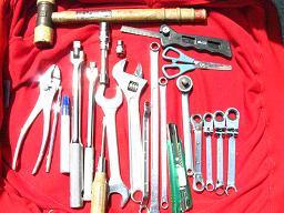 (おまけ)今回使用した主な工具類