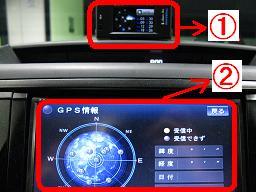 同じ状況下にありながら、GPS受信感度に差がある