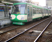 世田谷線の旧塗装