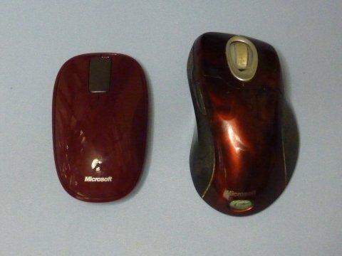 Wireless IntelliMouse Explorerとの比較