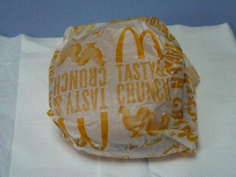 チキンクリスプ包装