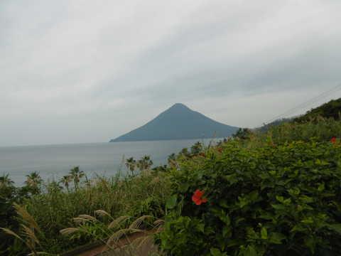 長崎鼻から薩摩富士