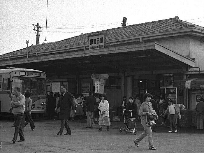昭和53年頃の原町田駅前。