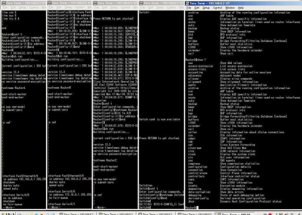 自宅ラボの構築 コンソールサーバで快適環境 Cisco Catalyst ...